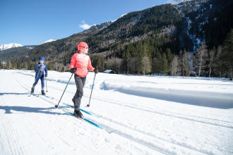 NORDIC SKIING: KID'S PLAY!
