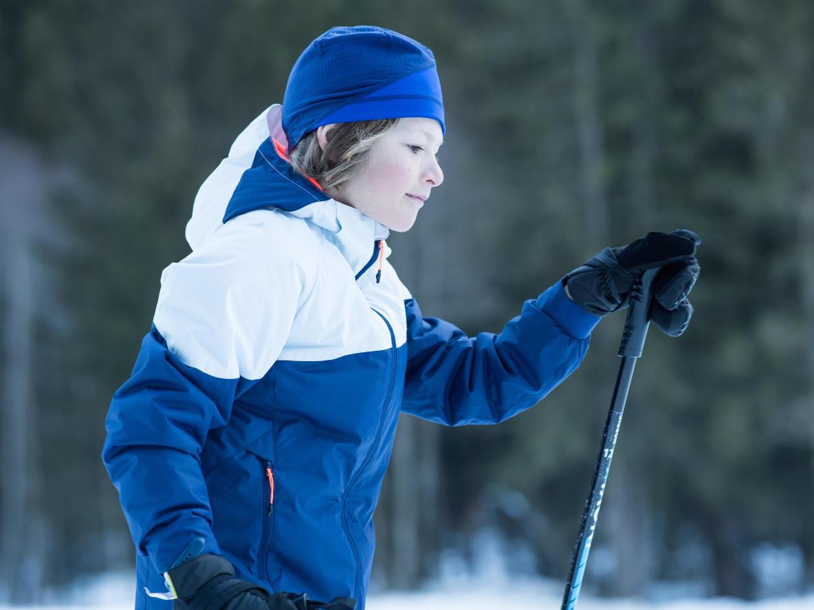 ski touring, a fun sport for kids