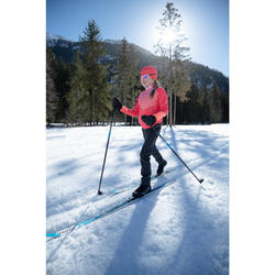Pantalon de ski de fond noir XC S PANT 500 ENFANT