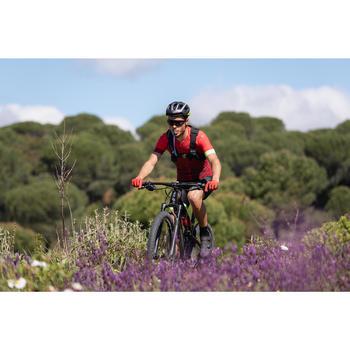 """Vélo VTT XC 900 S Tout Suspendu 29"""" CARBONE rouge et noir"""