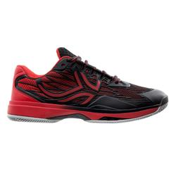 Heren padelschoenen PS990 zwart/rood