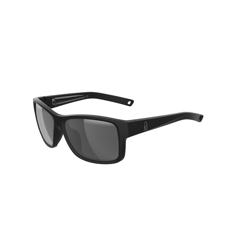 Gafas Sol Vela 100 Adulto Negro Polarizadas Flotantes Talla M