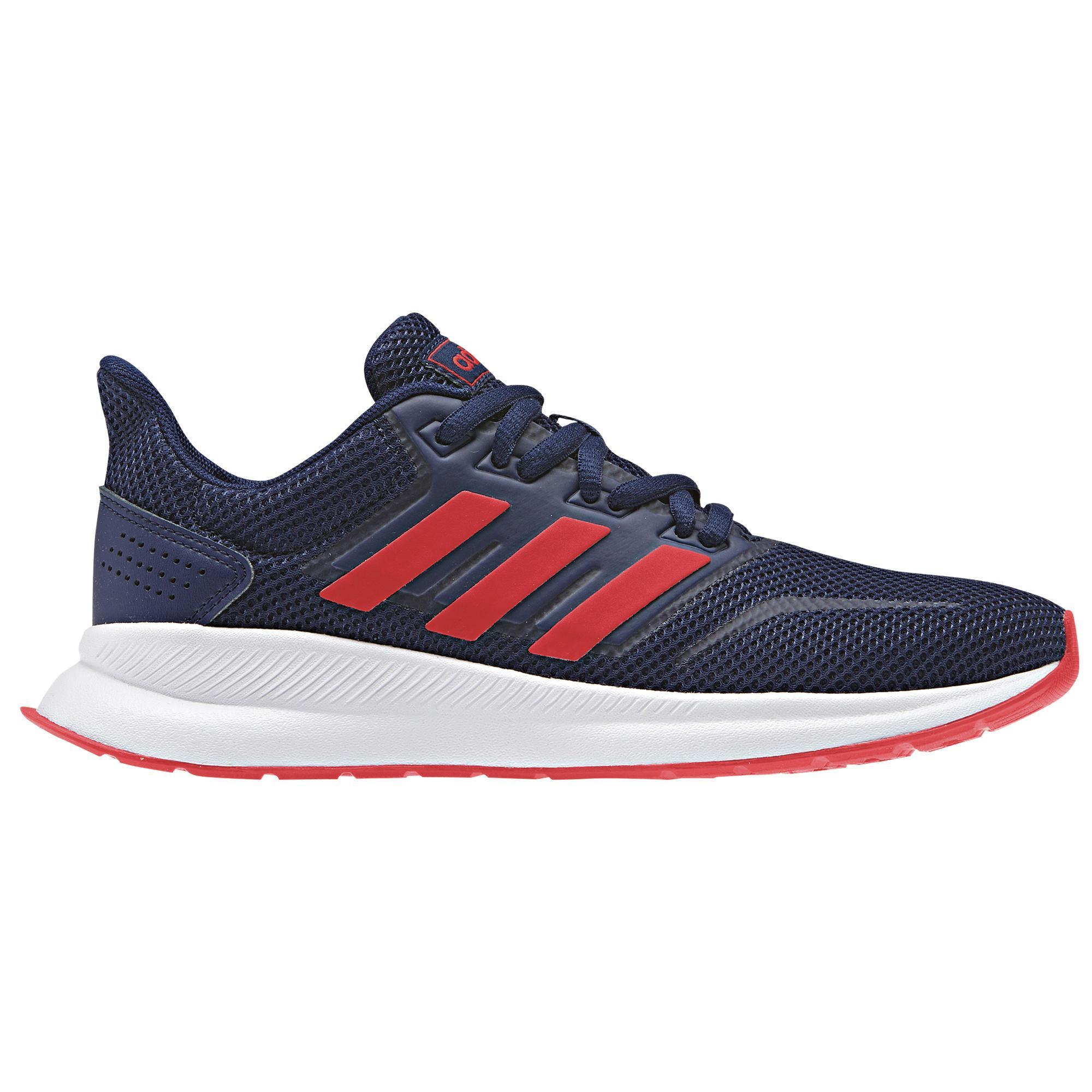 purchase cheap fresh styles online shop Chaussures marche enfant Adidas Falcon bleu / rouge