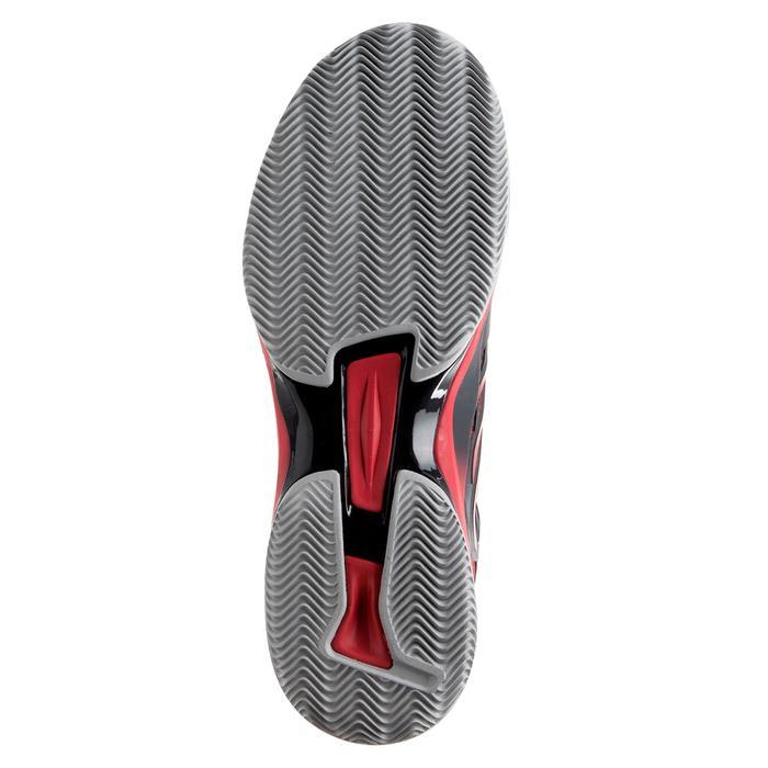 Padelschuhe PS 990 Hardcourt Herren schwarz/rot