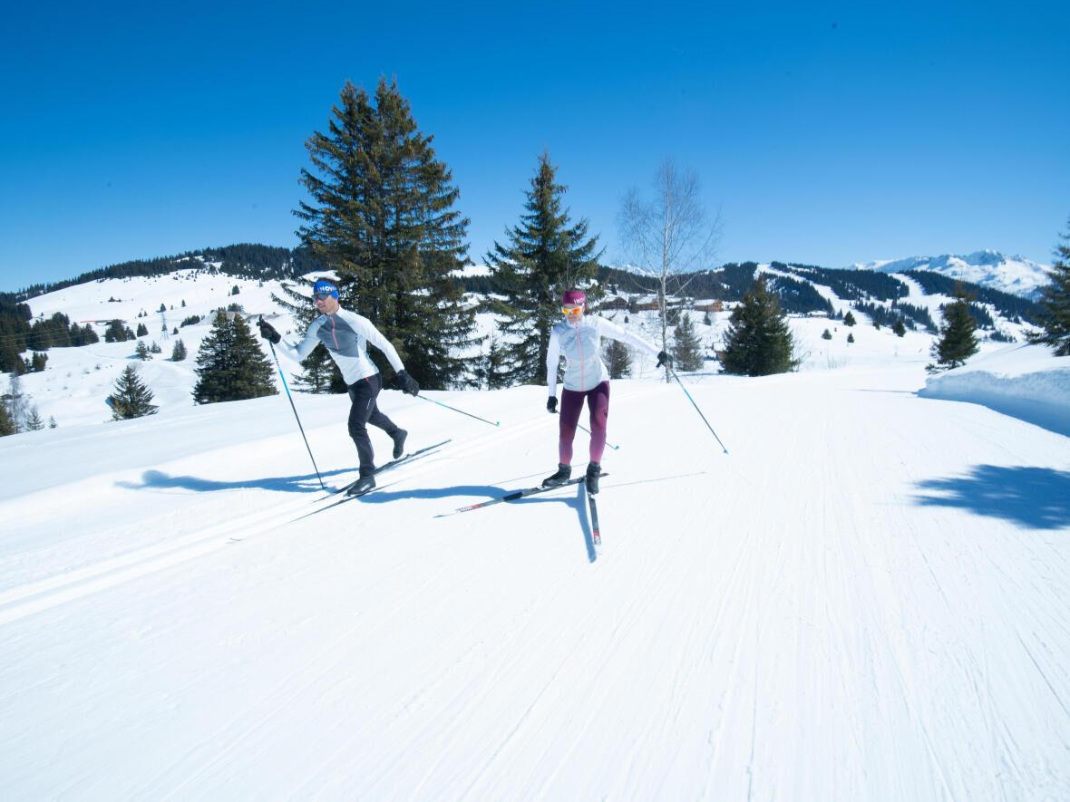 Le ski de fond, Une activité idéale pour toute la famille !