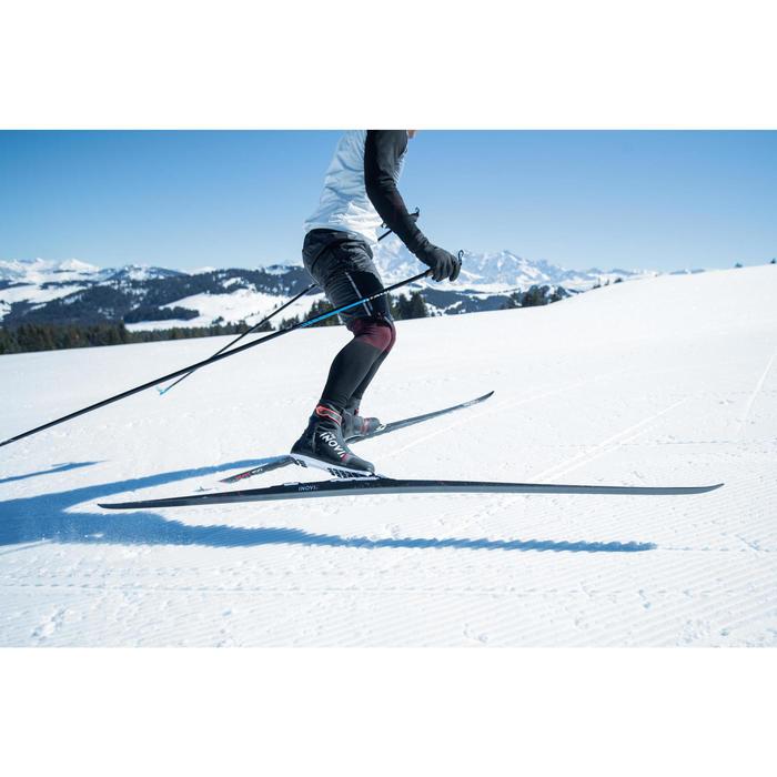 Ski de fond skating 900 cambre HARD adulte + Fixation Rottefella Xcelerator