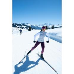 Collant de ski de fond violet XC S TIGHT 500 FEMME