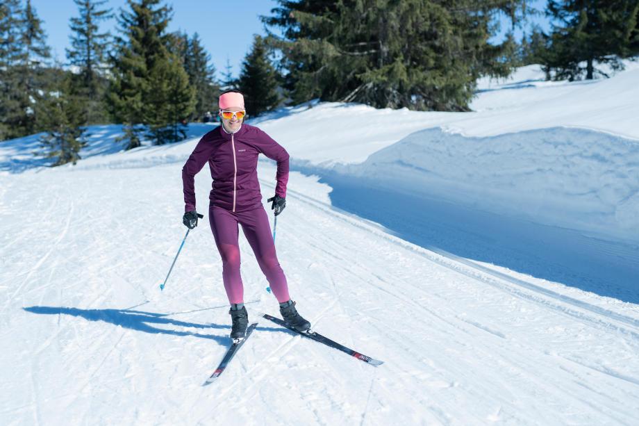 les bienfaits du ski de fond