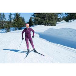Ski de fond skating 550 cambre MEDIUM adulte + Fixation Rottefella Xcelerator