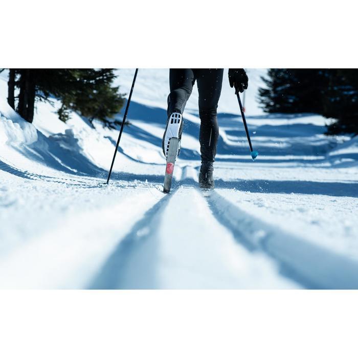 Ski de fond classique 900 à peaux + Fixation Rottefella Xcelerator