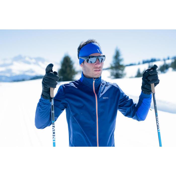 Stirnband Langlauf XC S 500 Erwachsene blau