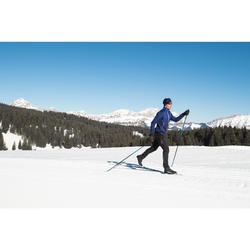 Ski de fond classique 550 à peaux - Cambre MEDIUM + fixation XCELERATOR