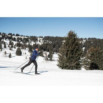 Ski de fond classique 550 à peaux - Cambre SOFT + fixation XCELERATOR