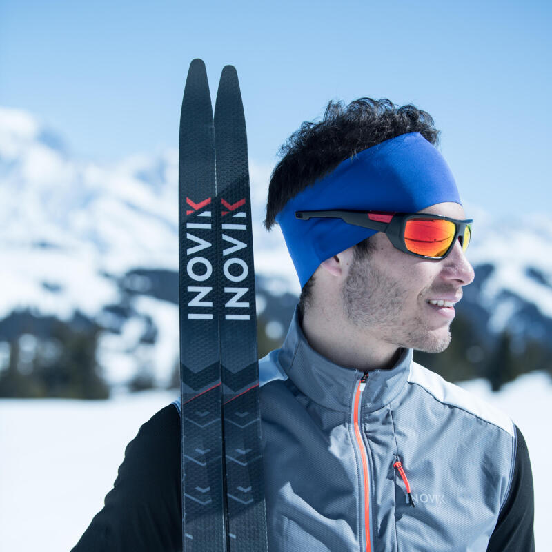 man ready for a cross-country ski race