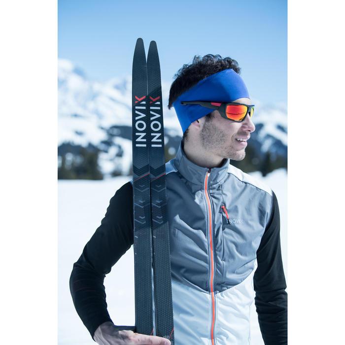 Gilet de ski de fond homme XC S VEST 500 gris