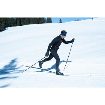Mallas largas de esquí de fondo hombre XC S TIGHT 500 negro