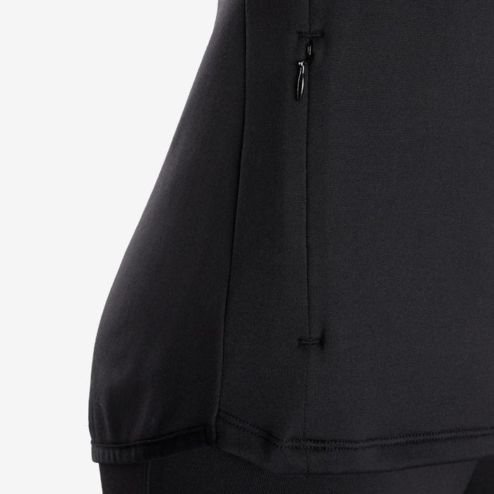 Survêtement chaud, synthétique respirant S500 fille GYM ENFANT noir