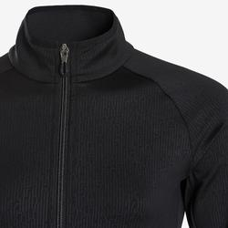Warm en ademend trainingspak voor gym meisjes S500 synthetisch zwart