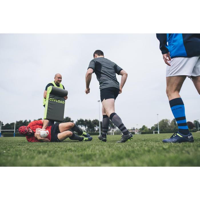 Rugbyshirt voor heren R500 kaki