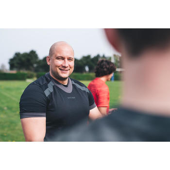 Maillot de rugby homme R100 noir