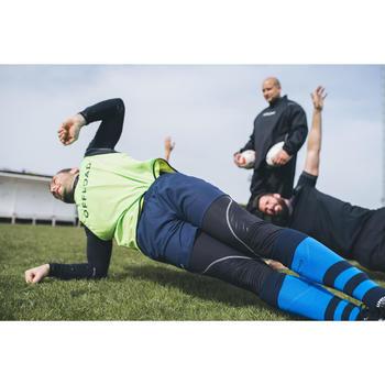 Mallas térmicas largas Rugby Offload R500 hombre negro