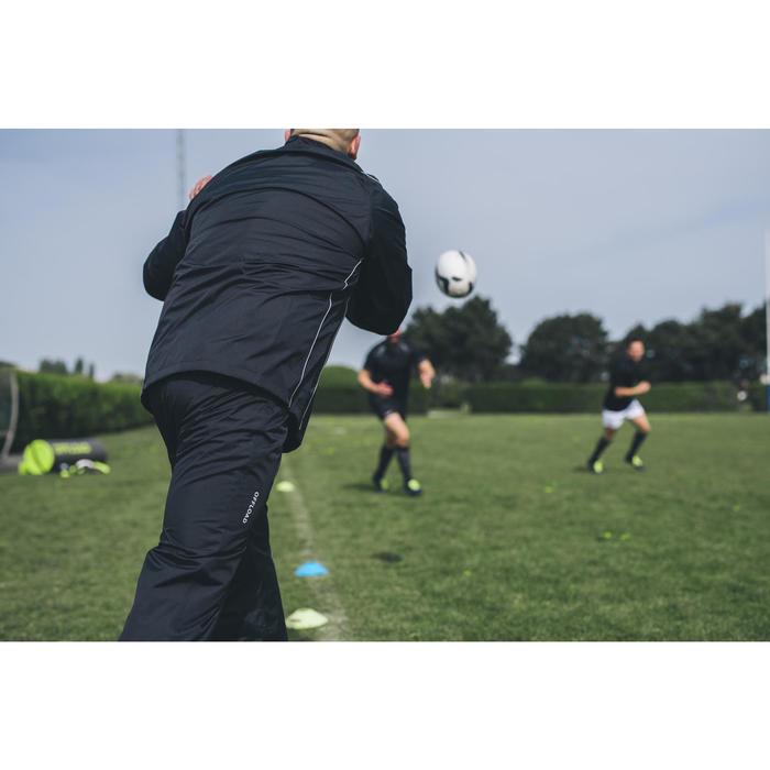 Wind- en waterdichte rugbybroek voor volwassenen Smockpant R500 zwart