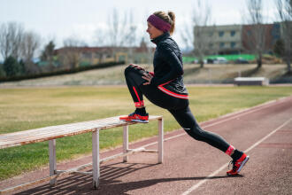 Recuperation en marche athletique