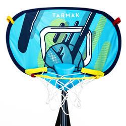 Basketbalpaal Hoop 500 Easy Overal mee te nemen en uiterst snel op te zetten.