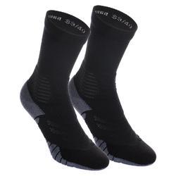 Basketbalsokken voor heren/dames SO900 Mid zwart