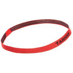 Basketbal haarbandjes zwart/grijs/rood (3 stuks)