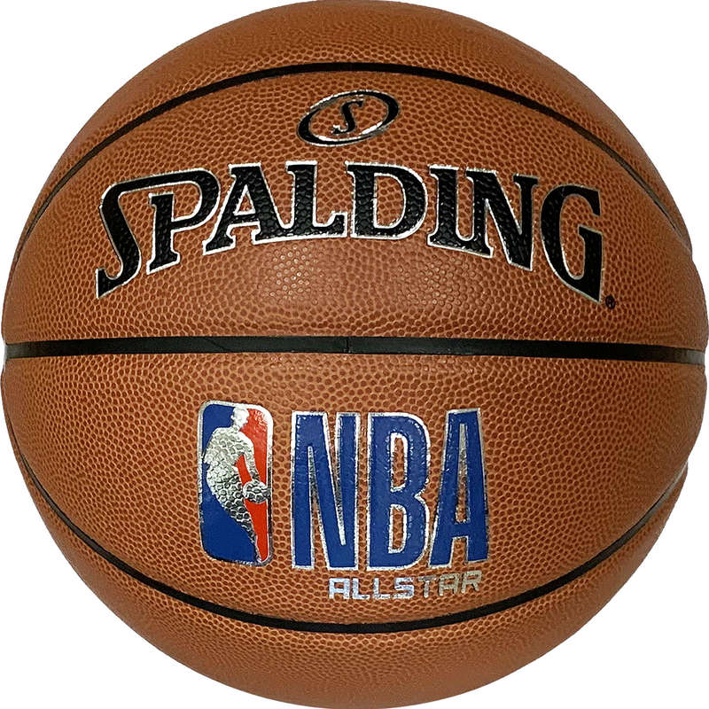 BASKETBALOVÉ MÍČE Basketbal - MÍČ NBA ALL STAR 2019/2020 SPALDING - Basketbalové míče