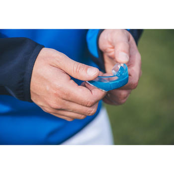 Rugbybitje R500 maat L blauw (spelers of speelsters > 1,70 m)