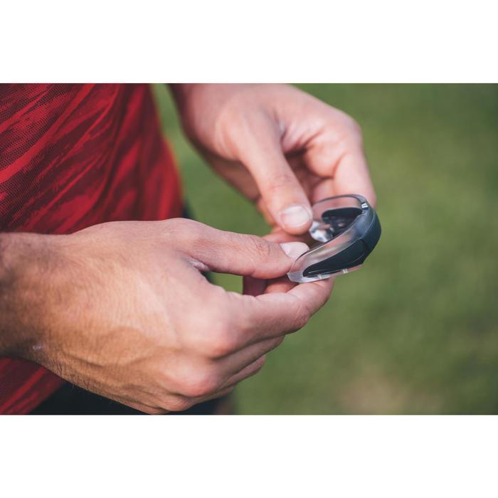 Protège dents de rugby R500 Taille L noir ( joueur(se) > à 1.70M )