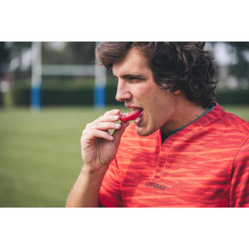 Rugbybitje R500 maat L rood voor spelers/speelsters > 1,70 m