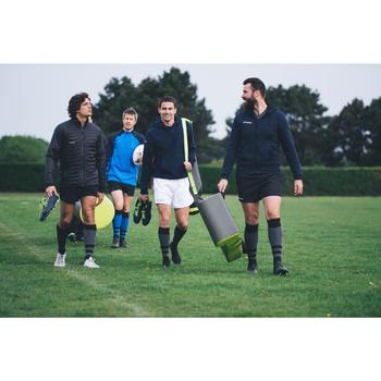 Kokertas voor 5 rugbyballen kaki