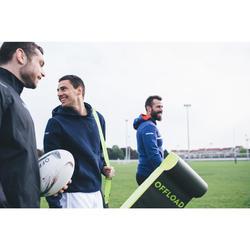 Balltasche Tube 5 Rugbybälle khaki