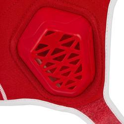 Wasserball-Kappe Klettverschluss 500 Easyplay Kinder rot