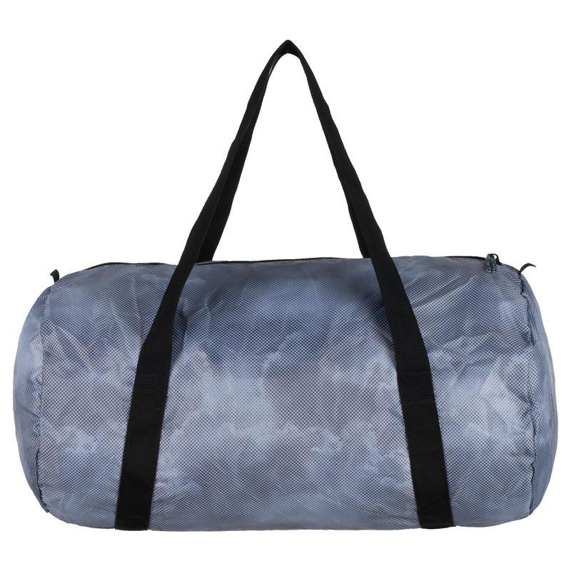 Zapatillas de Viaje Plegables con Bolsa Azul Claro, M Chanclas Plegables de Viaje con Neceser,