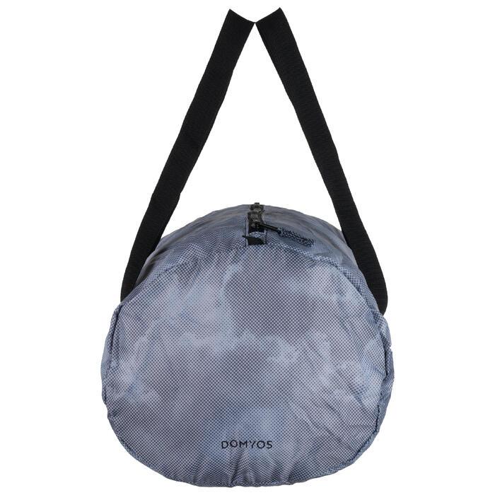 Bolsa cardio fitness training plegable 30 L gris claro