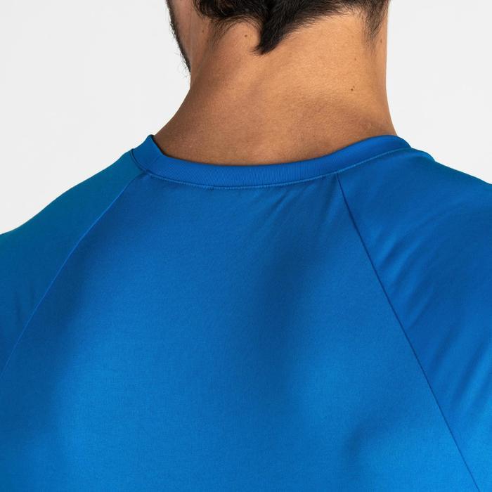 T-Shirt FTS 100 Fitness Cardio Herren blau