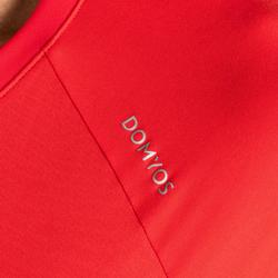 Camiseta cardio fitness training hombre FTS 100 azul rojo