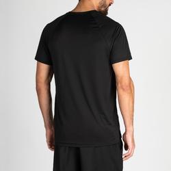 Fitness shirt FTS 100 voor heren, zwart