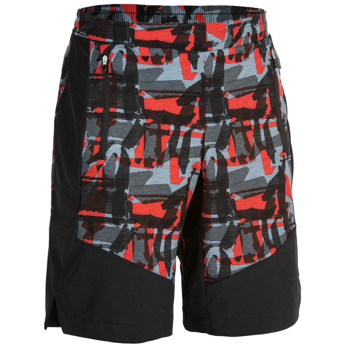 Short cardio fitness training homme FST 500 rouge AOP