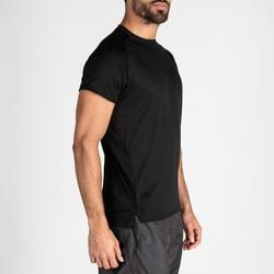 Tee shirt cardio fitness training homme FTS 120 noir uni
