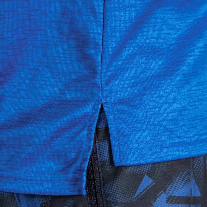 T-Shirt FTS 120 Fitness Cardio Herren blaumeliert