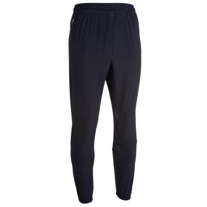 有氧健身長褲FPA 500-軍藍色