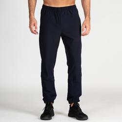 Pantalon fitness cardio training homme FPA 500 bleu marine