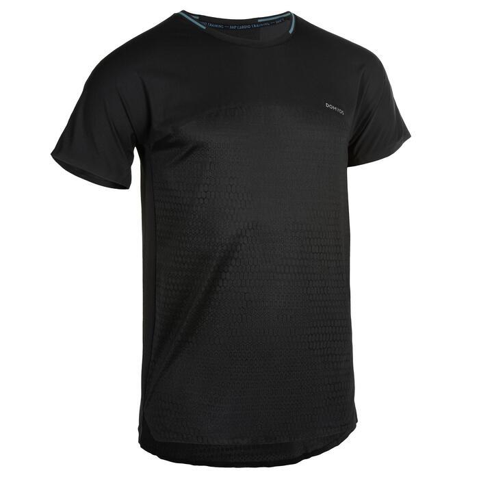 T-Shirt FTS 920 Fitness Cardio Herren schwarz