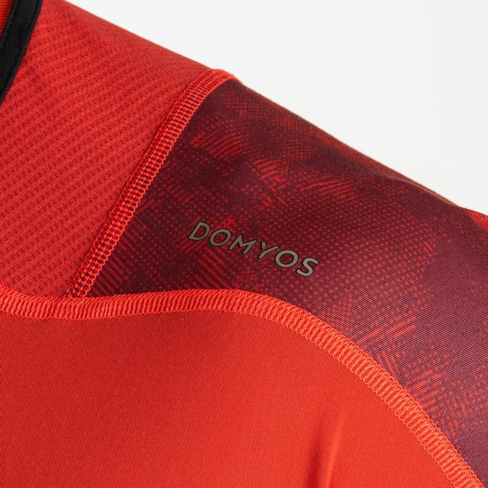 T-shirt voor cardiofitness heren FTS 500 rood