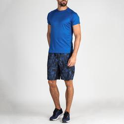 Short cardio fitness hombre FST 120 azul AOP